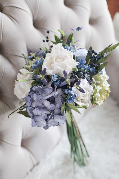 Wild Blue Medium Flower Bouquet