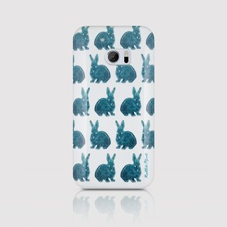 (Rabbit Mint) mint Phone Case Rabbit - Rabbit stamp series - HTC 10 (P00086)