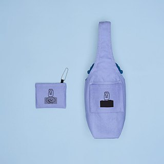 YCCT Eco Beverage Bag Cover - Moai Small Meat - Patent Storage is not afraid to forget