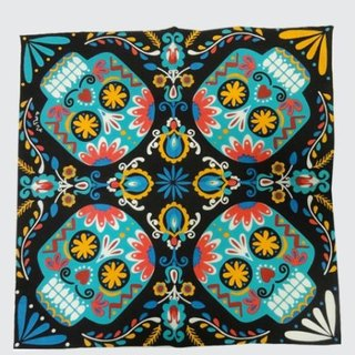 Pre-ordered Mexican skull head scarf (three colors) ISAP7272