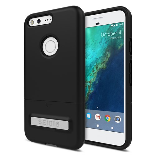 Will fashion two-color protective shell / phone case for Pixel-extinction black -URFACE series