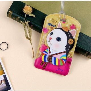 JETOY, sweet cat travel tag second generation _Wori J1712304