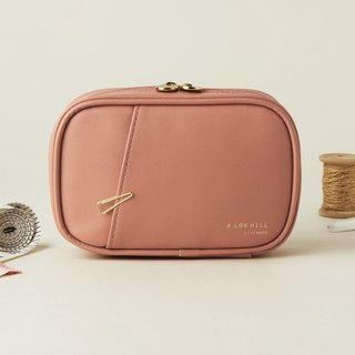 Livework Collection Dry Flower Leather Universal Cosmetic Bag Ver.4-Dry Rose, LWK54708