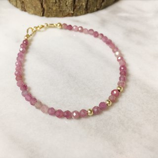 ::Anniversary Commemorative Products::MH Natural Stone 14K Gold Elegant Series_Pink Tourmaline