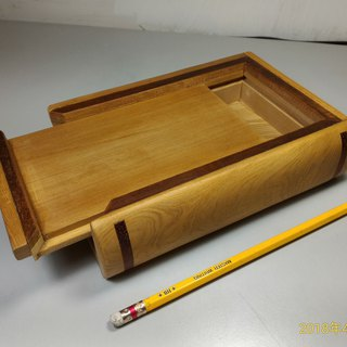 ~Old material new work~Taiwan Elm small book box