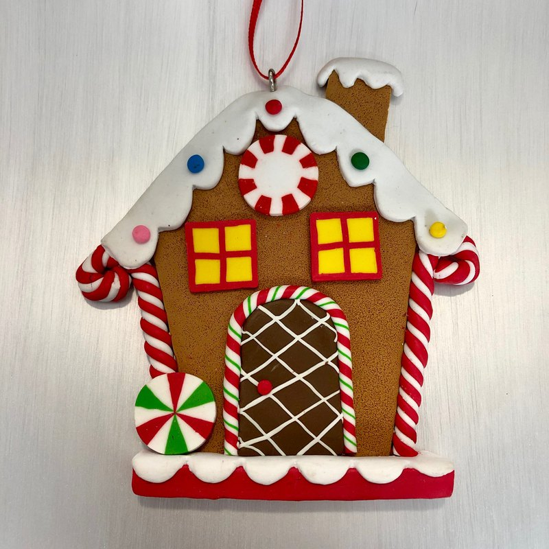 Candy Christmas Gingerbread House