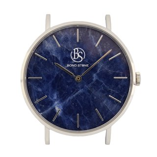 BOND STONE SHINE LAPIS LAZULI 36mm watch body only (belt optional)