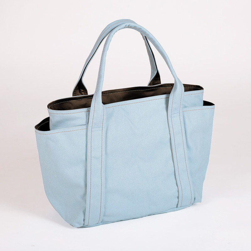 Canvas universal handbag-baby blue (small)