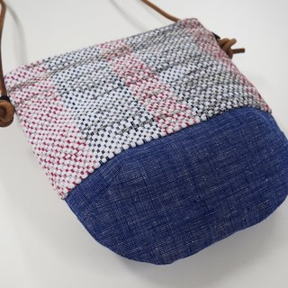 Handwoven Day Bag in White