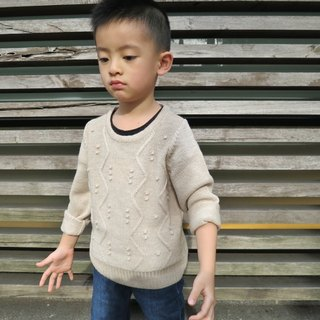 TiDi khaki knit sweater