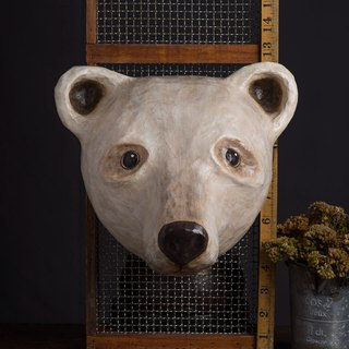 Wall decoration - white bear