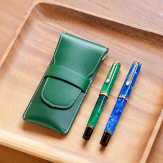 2 pens inserted pen case color order