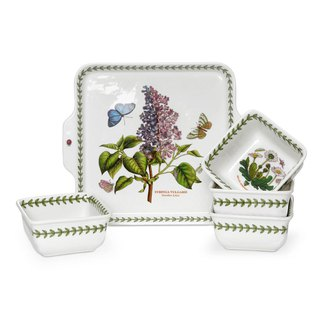 Botanic Garden Classic Botanic Garden Series - Flower Five-Piece Bowl Set (Original Color Box)