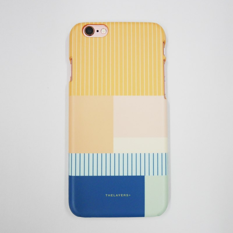 GRAPHIC PRINT - CANTALOUPE Custom Phone Case