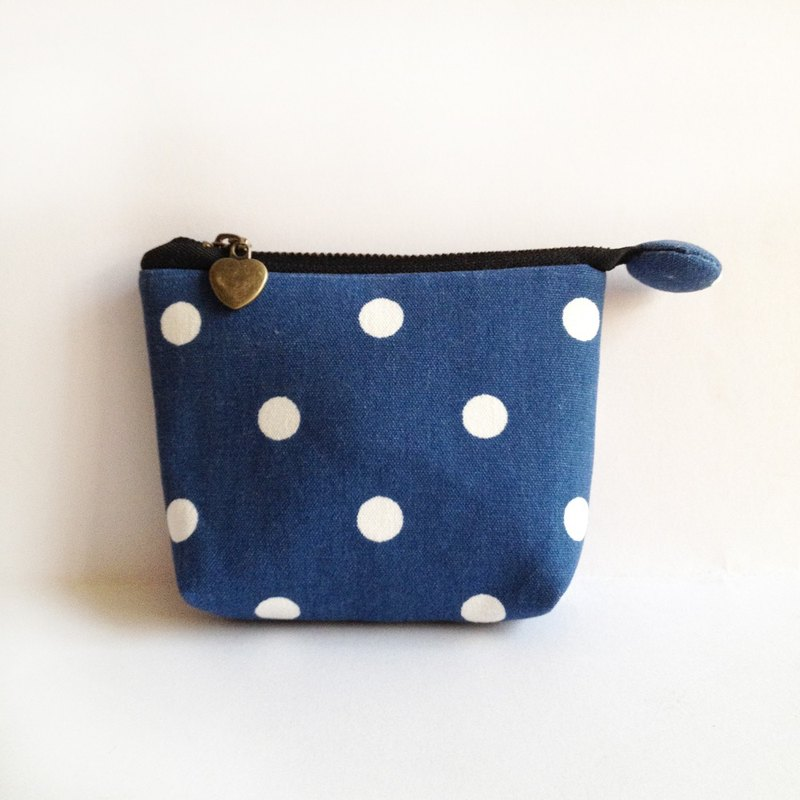 Little blue denim purse purse