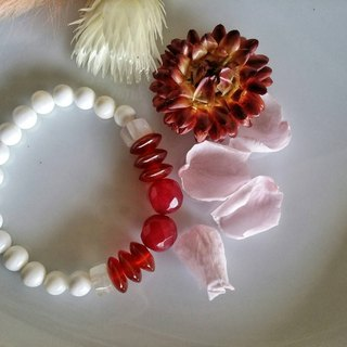 Valentine's Day [pure] hand-made X natural stone bracelet