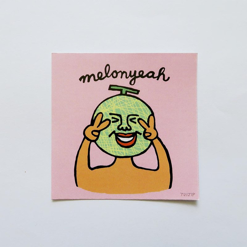 Melonyeah sticker
