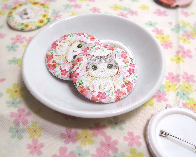 Sakura meow badge