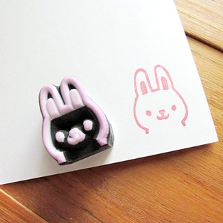 Apu handmade rubber stamp mini Moera stamp seal