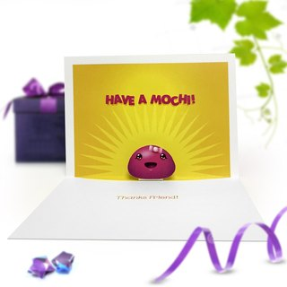Mochi Card | Good Friend Card | Thank You Card | Pop Up Card