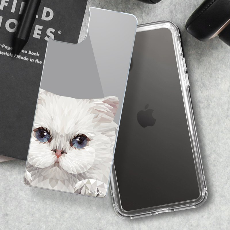 [High Gauge-Extremely Anti-Yellow Air Combat Armor] Mobile Phone Case-Cat (Large Face)