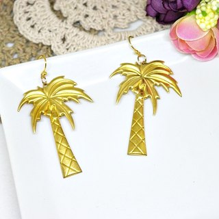 * _ * Alloy hook earring Hawaii