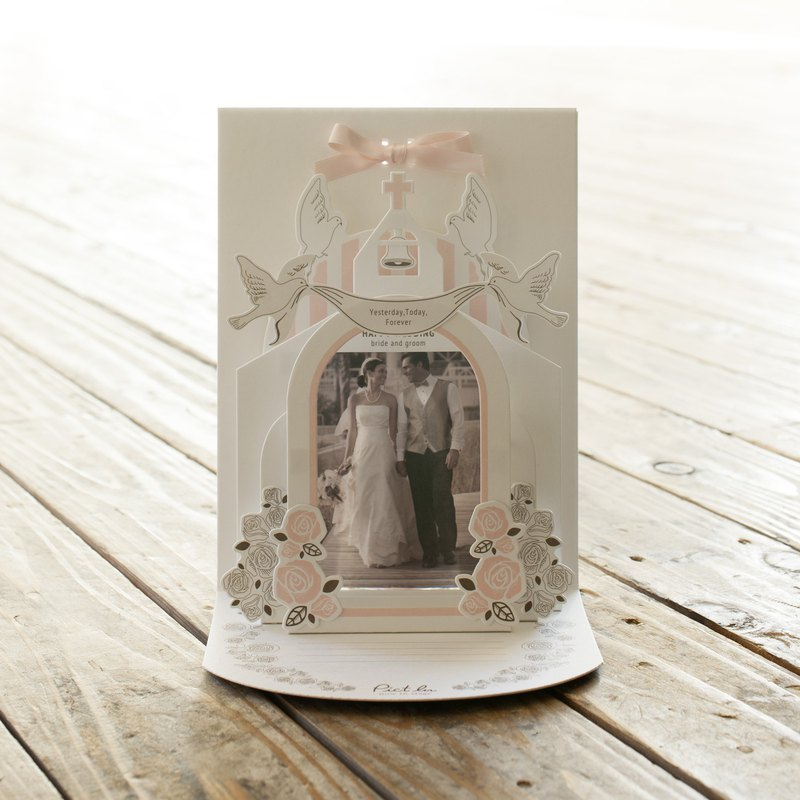 Pict In Wedding / Message card to decorate with photos