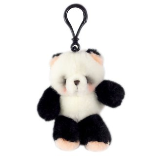 3.5吋/Panda Key Ring [Hallmark-ForeverFriends Fleece-Key Ring Series]
