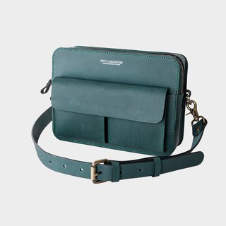 Hsu & Daughter double front pocket side backpack [HDA0071]