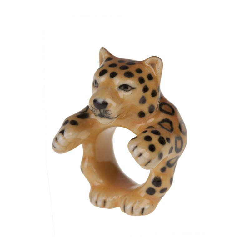 And Mary Leopard Ring | 17.5mm/18.5mm | Gift Box