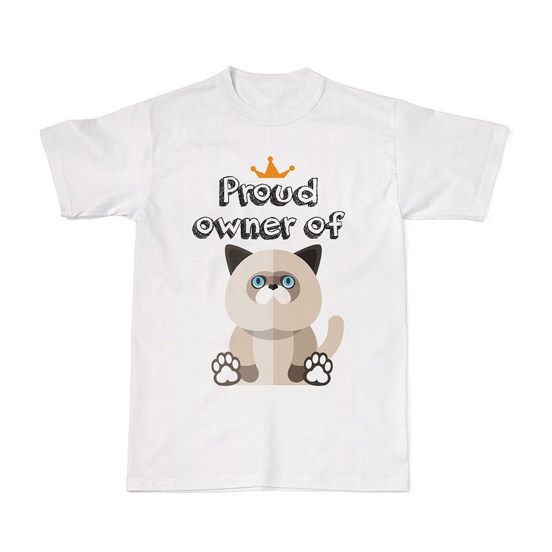 Proud Cat Owners Tees - Himalayan Cat