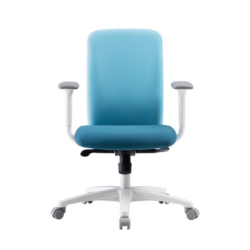 [iloom] Larry Rotary Rolling Computer Chair (Silence Blue)
