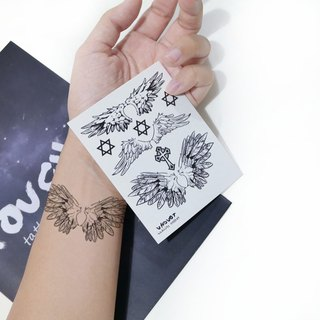 TU Tattoo Sticker - wing X3 / Tattoo / waterproof Tattoo / original / Tattoo Sticker