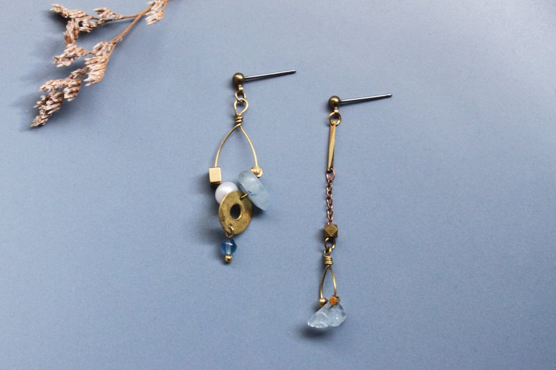 Rain - earring  clip-on earring