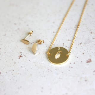 #islandpride 14K Matte  Gold Minimalistic ❖ Taiwan ❖ Necklace by izola.co