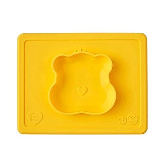United States EZPZ Care Bears joint dinner bowl - play bear silicone non-toxic tableware safety