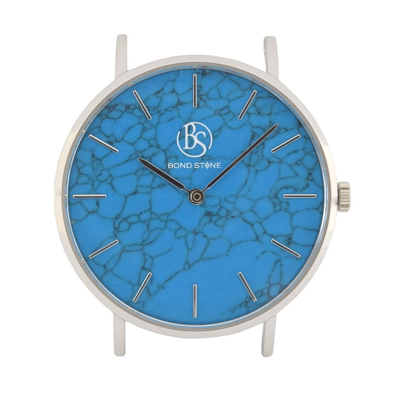 BOND STONE SHINE TURQUOISE 36mm watch body only (belt optional)