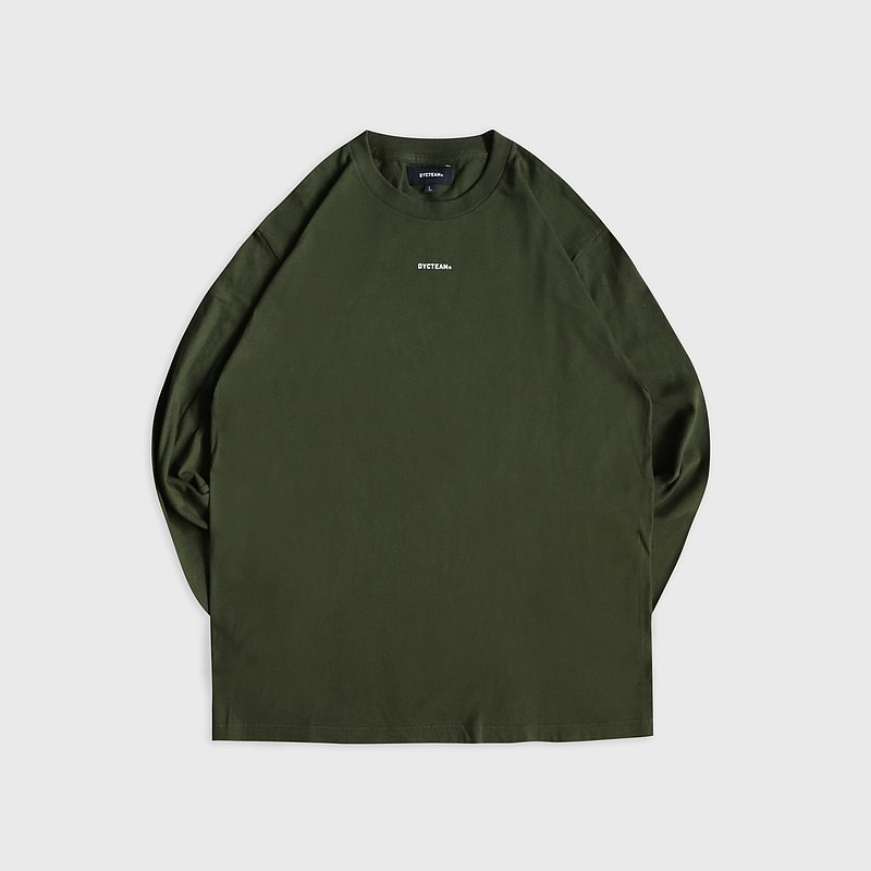 DYCTEAM - logo long sleeve tee (army)