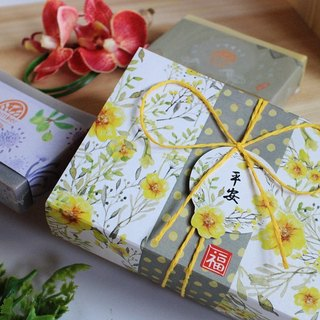 [Soap] Leian Bo New Year gift. Soap into two groups │ Taiwan cypress soap + comfrey Marseille soap │ │ New Year Souvenir fast shipping