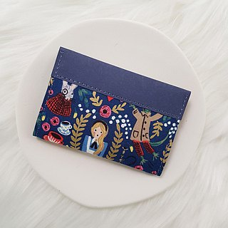 Alice in Wonderland Washed Kraft Paper Limited Edition | Card Holder Card Holder