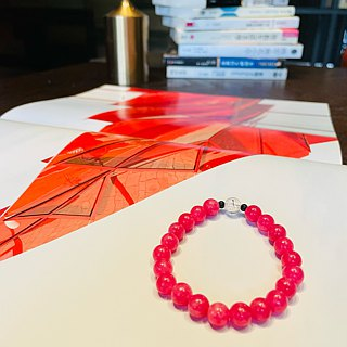 Ran Ran (Bracelet Series) Red Stone (8mm)--Love