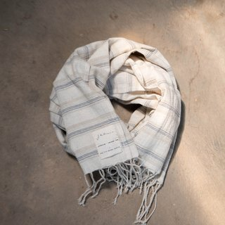 easy day scarf 02 | cotton linen natural color