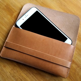 Handmade Leather iPhone pouches case for iphone 7 plus, iphone 8 plus, iphone x