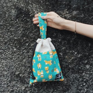 Beam Tote Bag / Dachshuid Teal