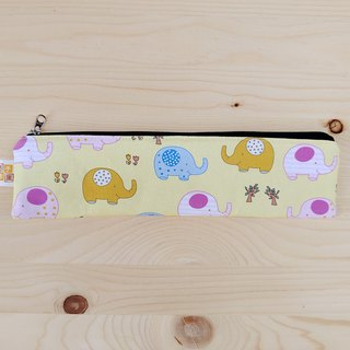 Cute baby elephant zipper bag chopsticks group