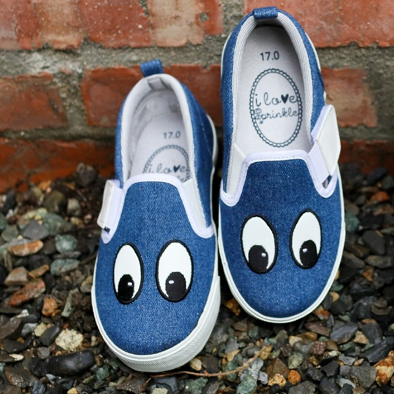 Cody Cowboy Four Eyes Slip- On Casual Shoes (Kids) - (KR code special offer only returns)
