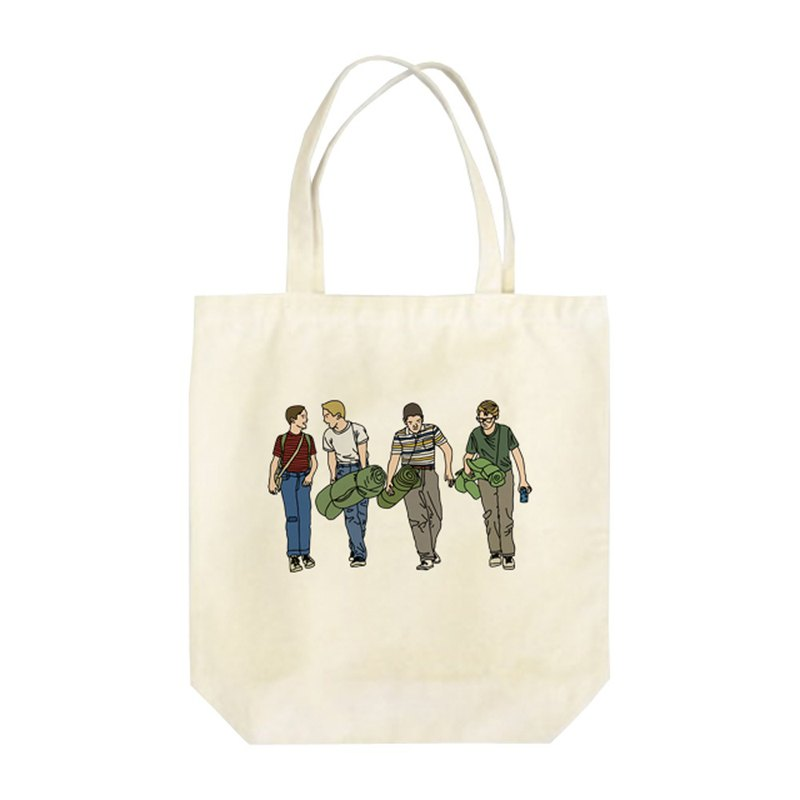 Gordie, Chris, Teddy and Vern Tote Bag