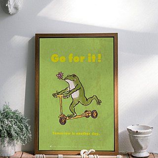 Poster Frog Coaster GO