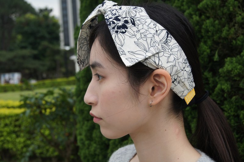 Day Blooml Limited Edition l Bow Tie Tied Hair Band