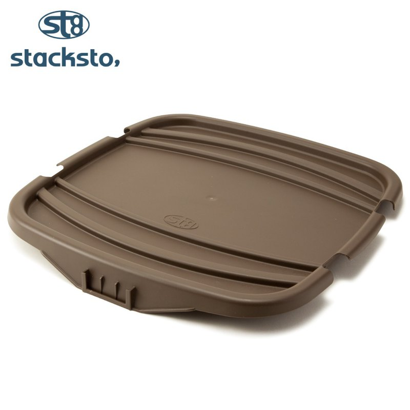 Stacksto flower basket cover - brown